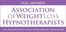 North Wales Rhyl Hypnotherapist Alison Bird is a Member of the Association of Weight Loss Hypnotherapists